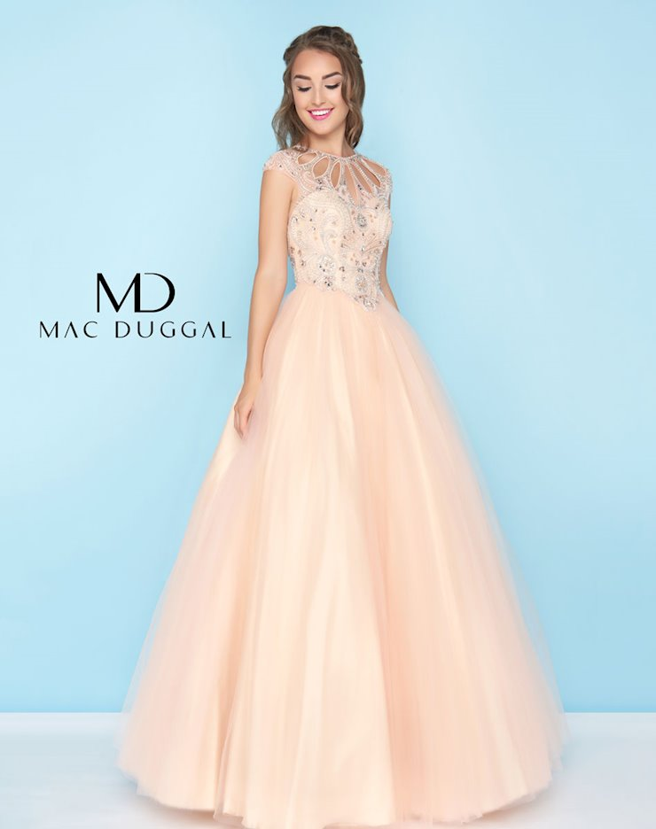 Mac Duggal 40750h The Red Carpet