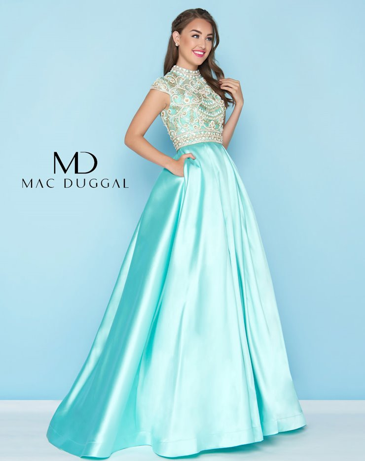 Mac Duggal Spring 2018 Ball Gowns | Anne\'s Bridals in KY - 66302H