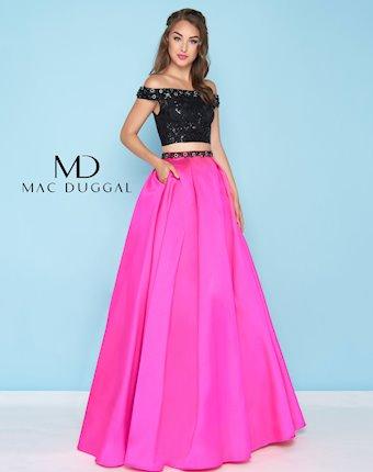 Ballgowns by Mac Duggal Style #66316H