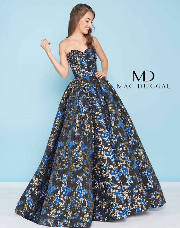 Ballgowns by Mac Duggal Style #66555H