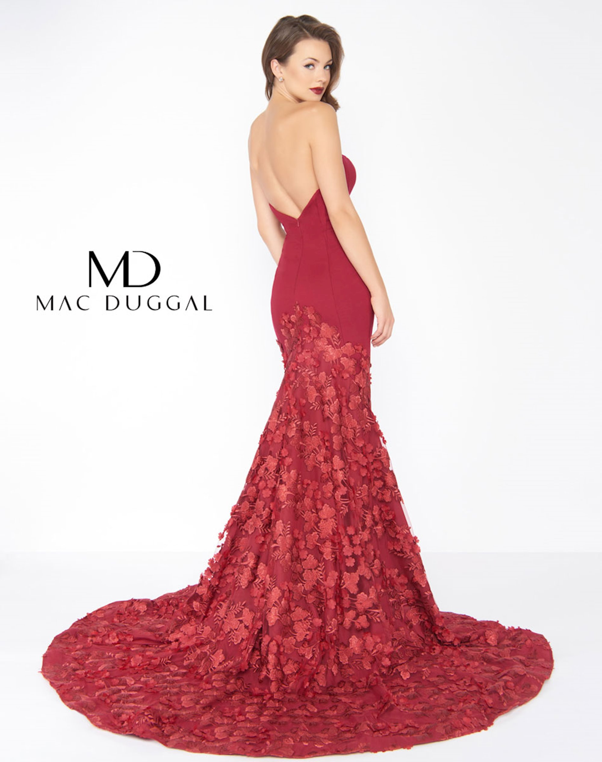 Mac Duggal Red Dress