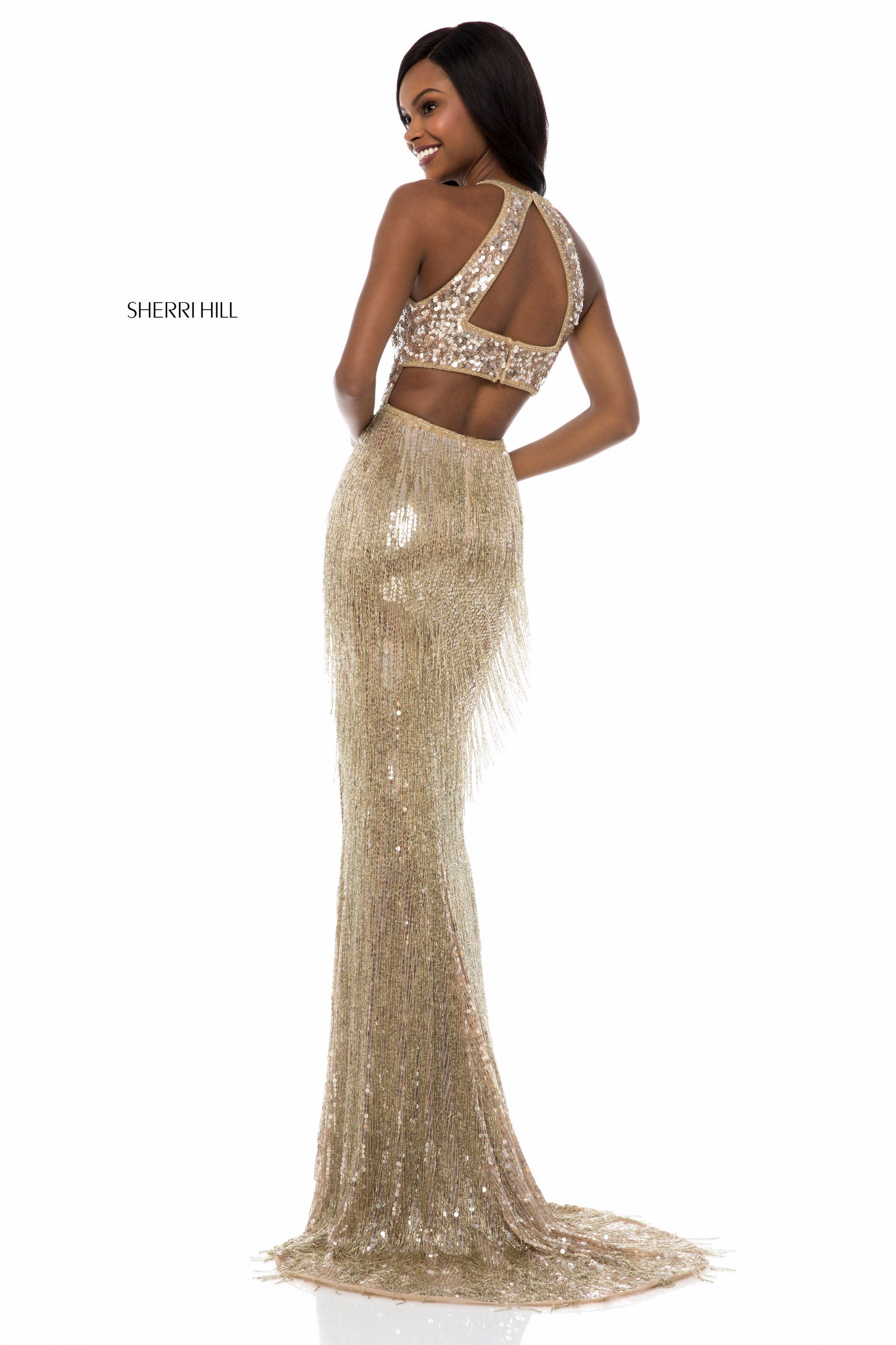 a5d609c744 Sherri Hill 52067. Double tap to zoom