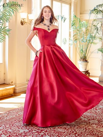 Clarisse Prom Dresses Off the Shoulder Classic Ball Gown