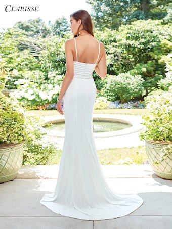 Clarisse Prom Dresses Ivory High Neck Formal Prom Dress