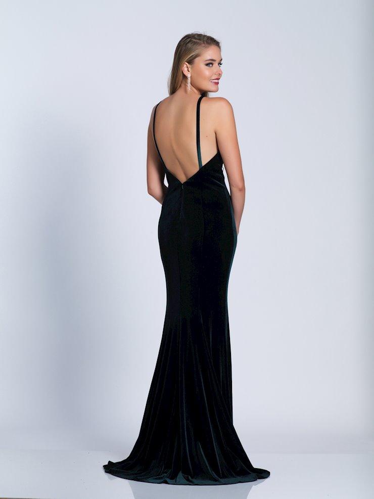 e6ef0f413af Dave   Johnny Prom Dresses Hunter Green Velvet Prom Gown