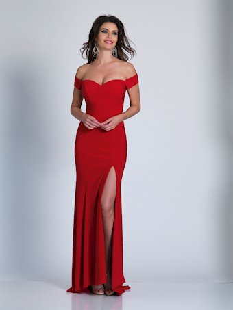 Dave & Johnny Prom Dresses Sexy Off the Shoulder Gown