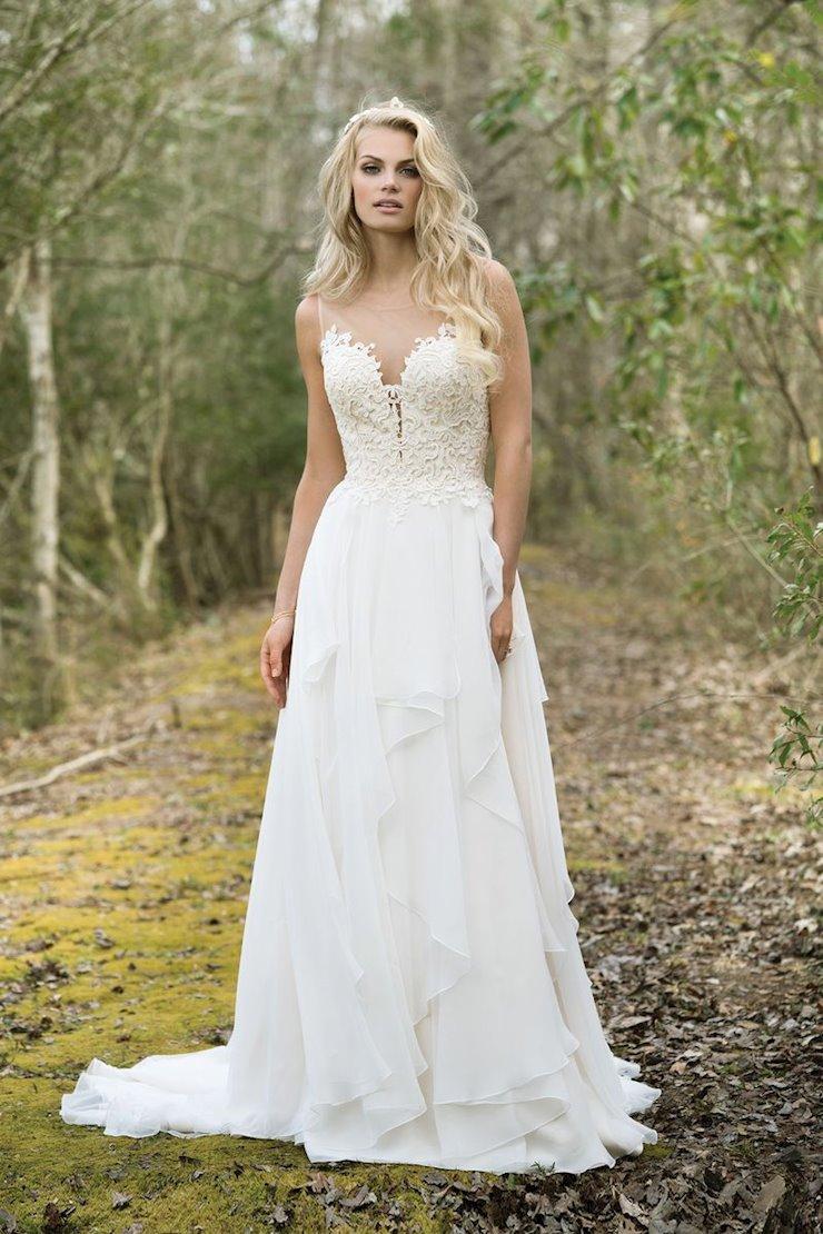 Lillian West Bridal 6449