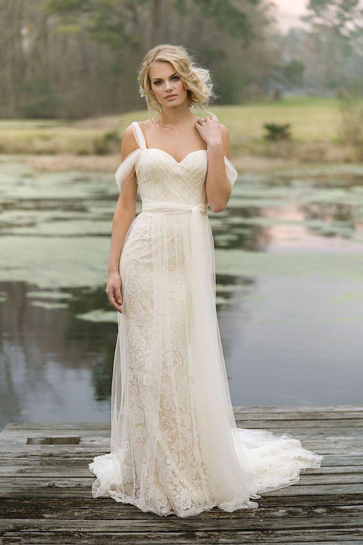 Lillian West Bridal 6455