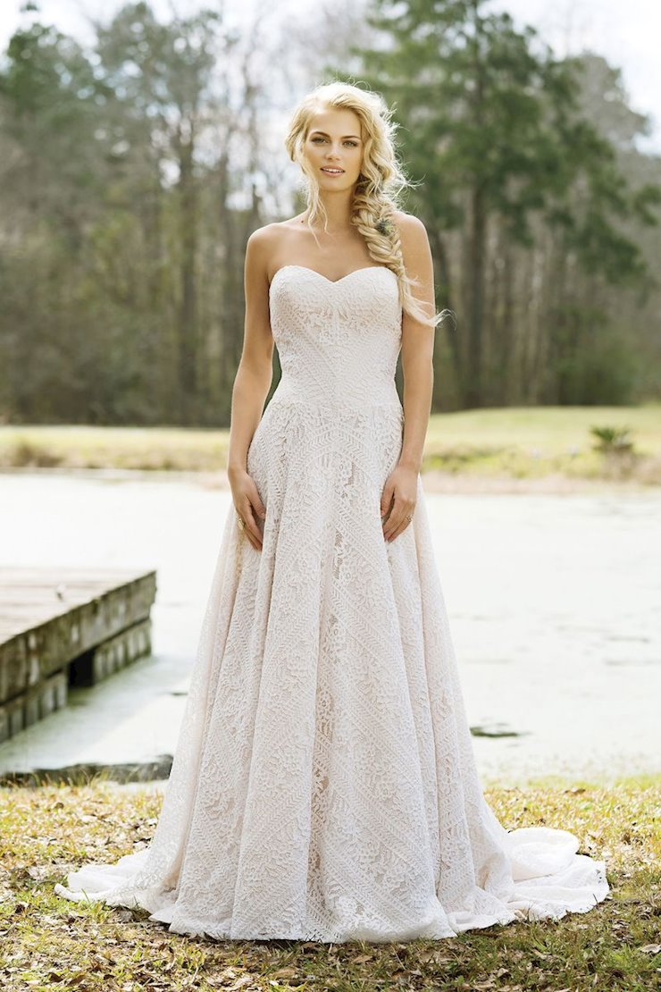 Lillian West Bridal 6458