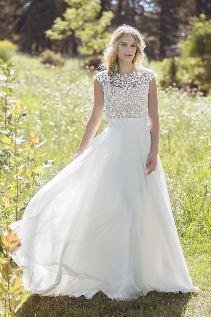 Lillian West Bridal #6493