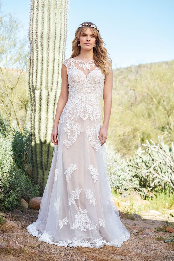 Lillian West Bridal 6512