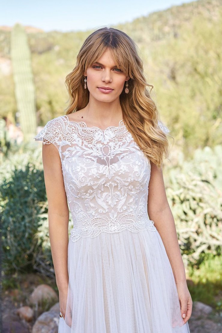 Lillian West Bridal 6514