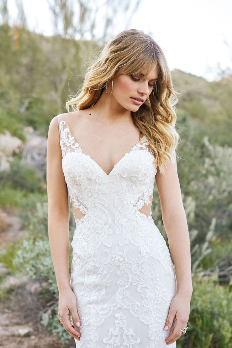 Lillian West Bridal 6521
