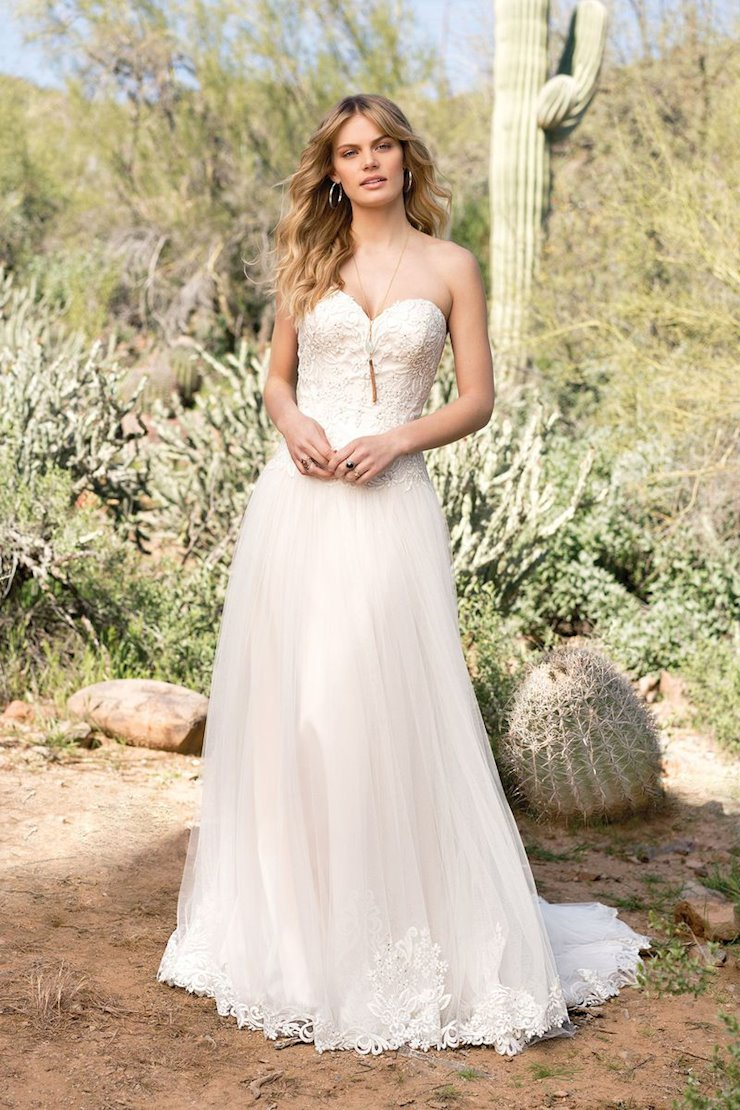 Lillian West Bridal 6526