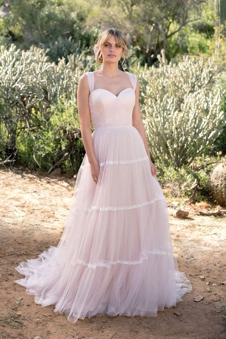 Lillian West Bridal 6529