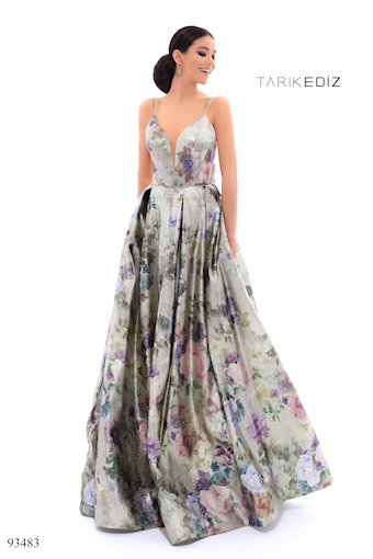 Tarik Ediz Spring Dress