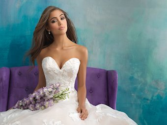 Allure Bridals Style #9502