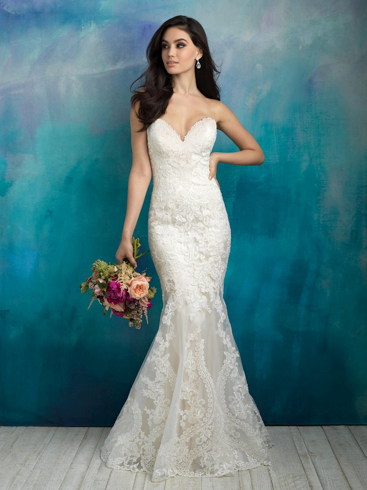 Allure Bridals 9516 Image