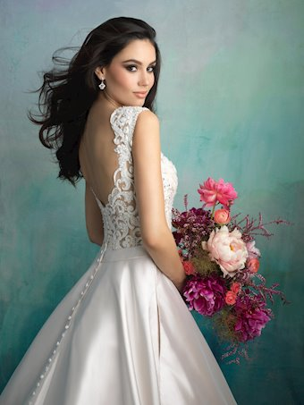 Allure Bridals Style #9517