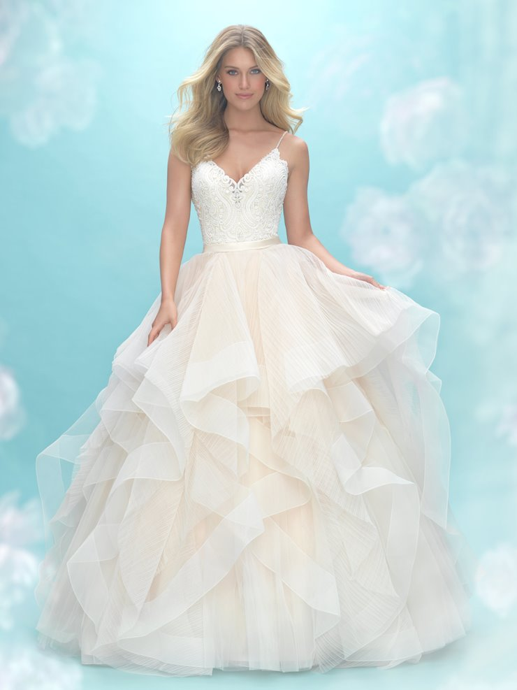 Allure Bridals Style #9450